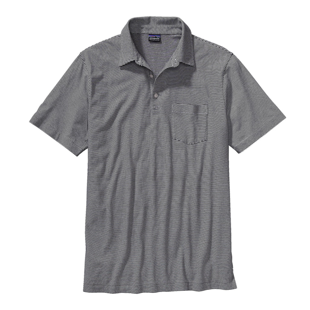 Patagonia M's Squeaky Clean Polo-Black - Bennett's Clothing - 1