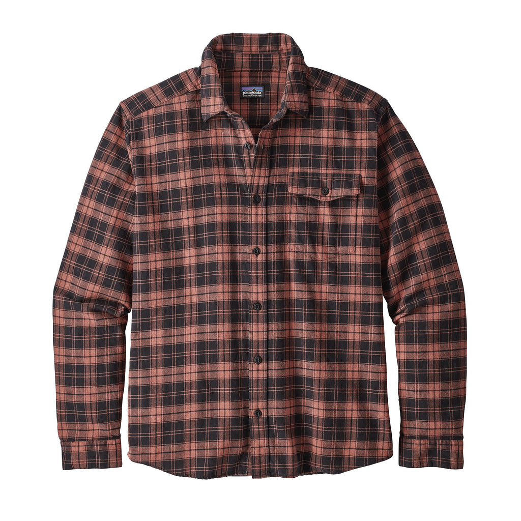 Patagonia Mens Lightweight Fjord Flannel Shirt -Shop Bennetts Clothing for a large selection of mens outdoor wear