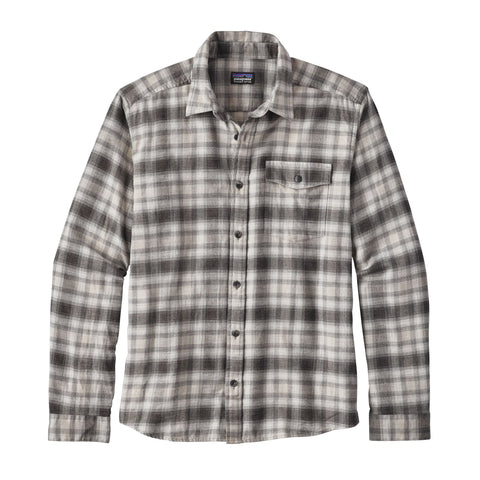 Patagonia Lightweight Revival Flannel Long-Sleeve Shirt-Feather Grey