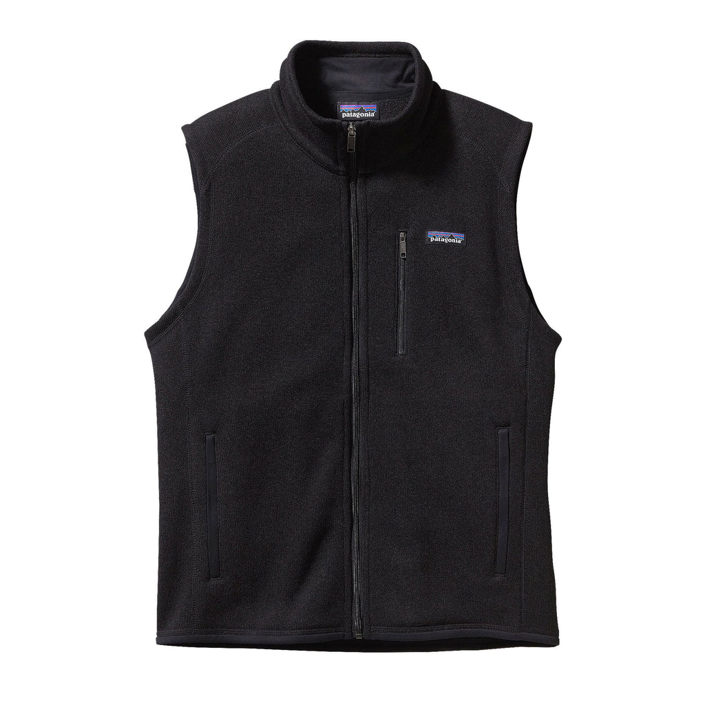 Patagonia Mens Better Sweater Vest-Black - Bennett's Clothing