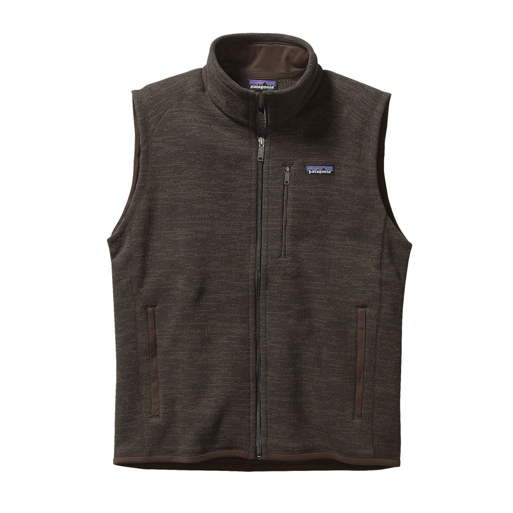 Patagonia Mens Better Sweater Vest-Dark Walnut - Bennett's Clothing