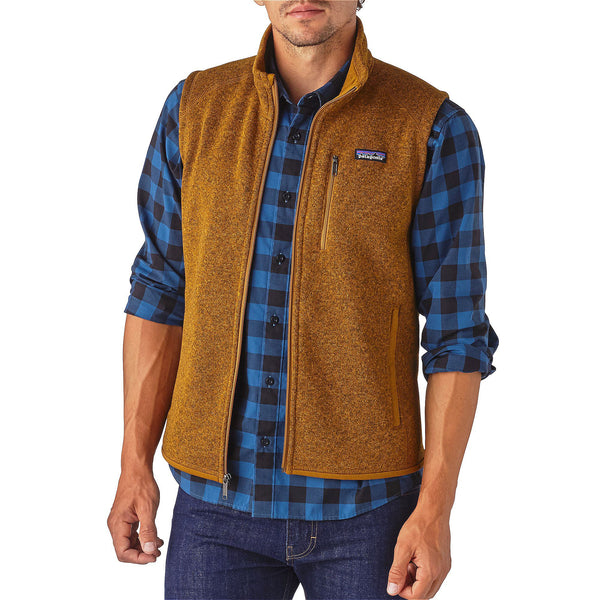 Patagonia Mens Better Sweater Vest-Tapenade - Bennett's Clothing - 1