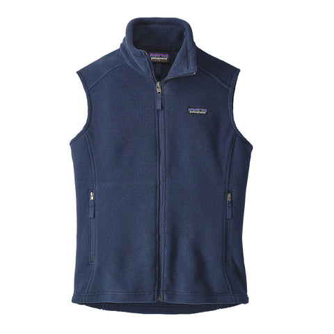 Patagonia Womens Classic Synchilla Fleece Vest-Navy