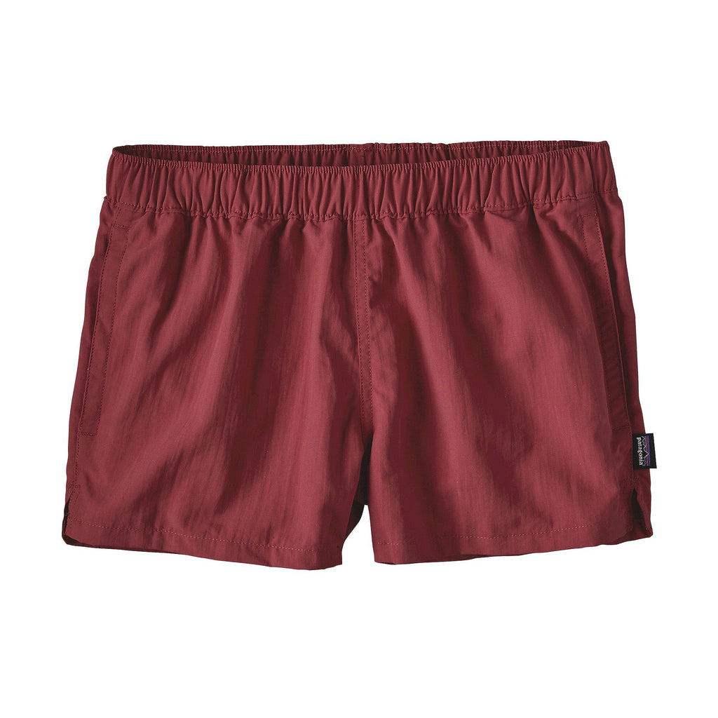 "Patagonia Woman's Barely Baggies 2.5"" Short-Adzuki Red"