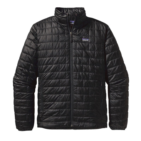 Patagonia Nano Puff Jacket for men is a must have when on the move -Shop Bennetts Clothing for a large selection of outdoor wear with same day shipping