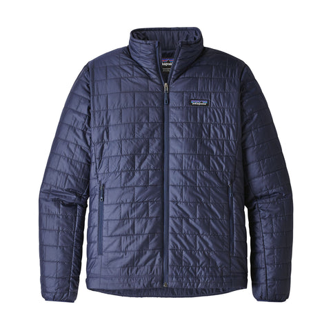 The mens Patagonia Nano Puff Jacket is a must have when on the move -Shop Bennetts Clothing for a large selection of outdoor wear with same day shipping