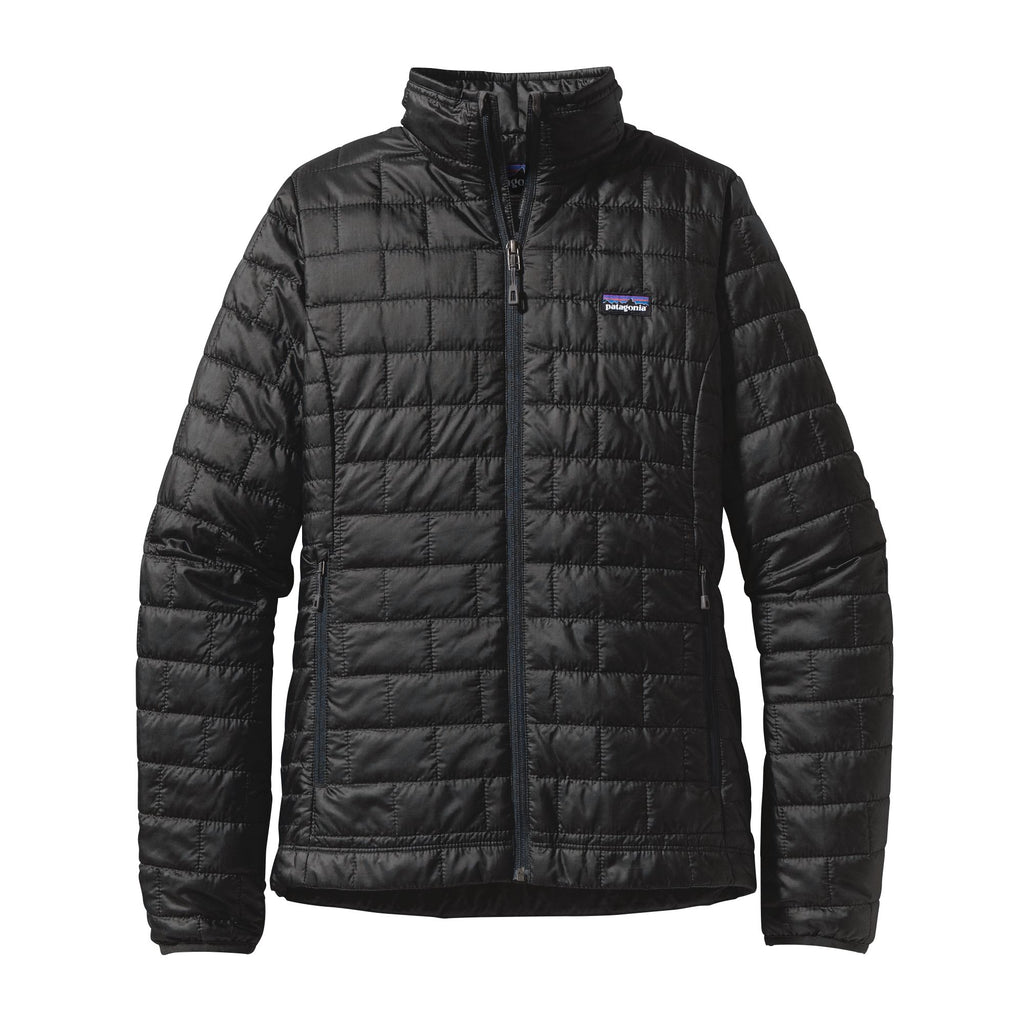 Patagonia Nano Puff Jacket for women is so warm, lightweight and packable. Shop Bennetts Clothing for a large selection of womens outerwear with same day shipping to your front door.