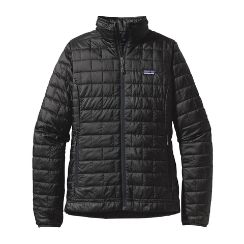 Patagonia Womens Nano Puff Jacket-Black
