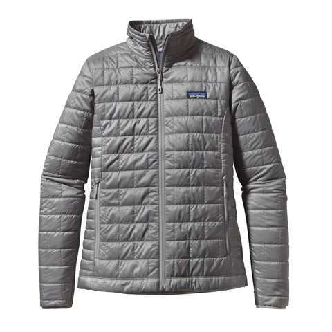Patagonia Womens Nano Puff Jacket-Feather Grey