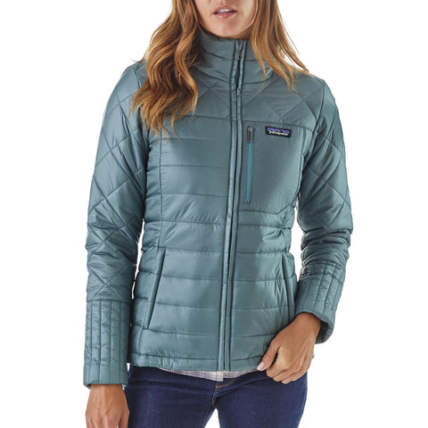 Patagonia Radalie Jacket for women keeps you warm in the wind and cold -Shop Bennetts Clothing for a large selection of womens outerwear and boots with same day shipping