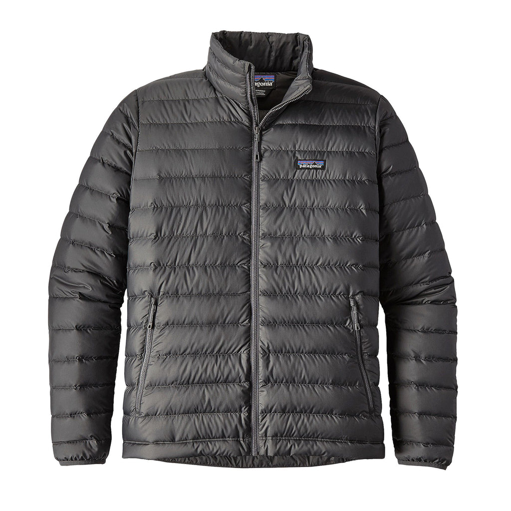 Patagonia Men's Down Sweater Jacket-Forge Grey
