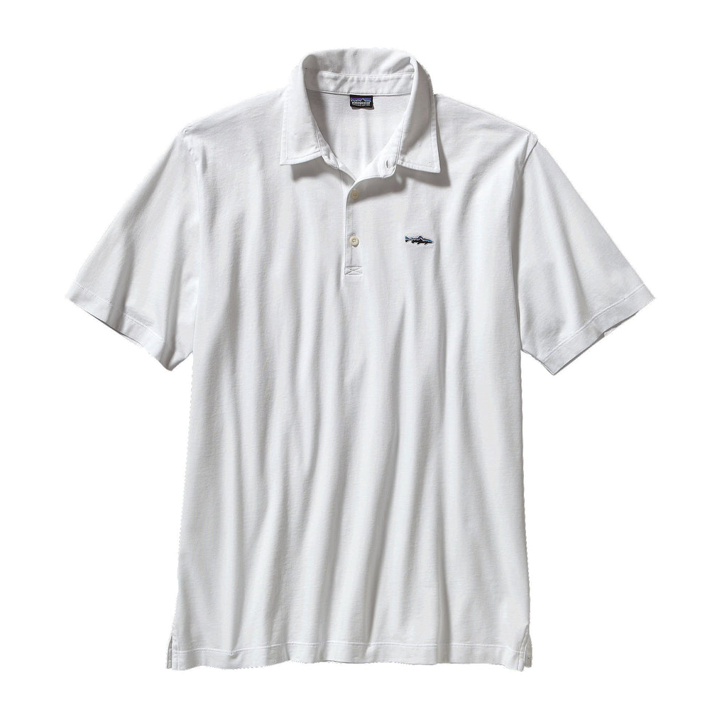 Patagonia Polo Trout Fitz Roy-White