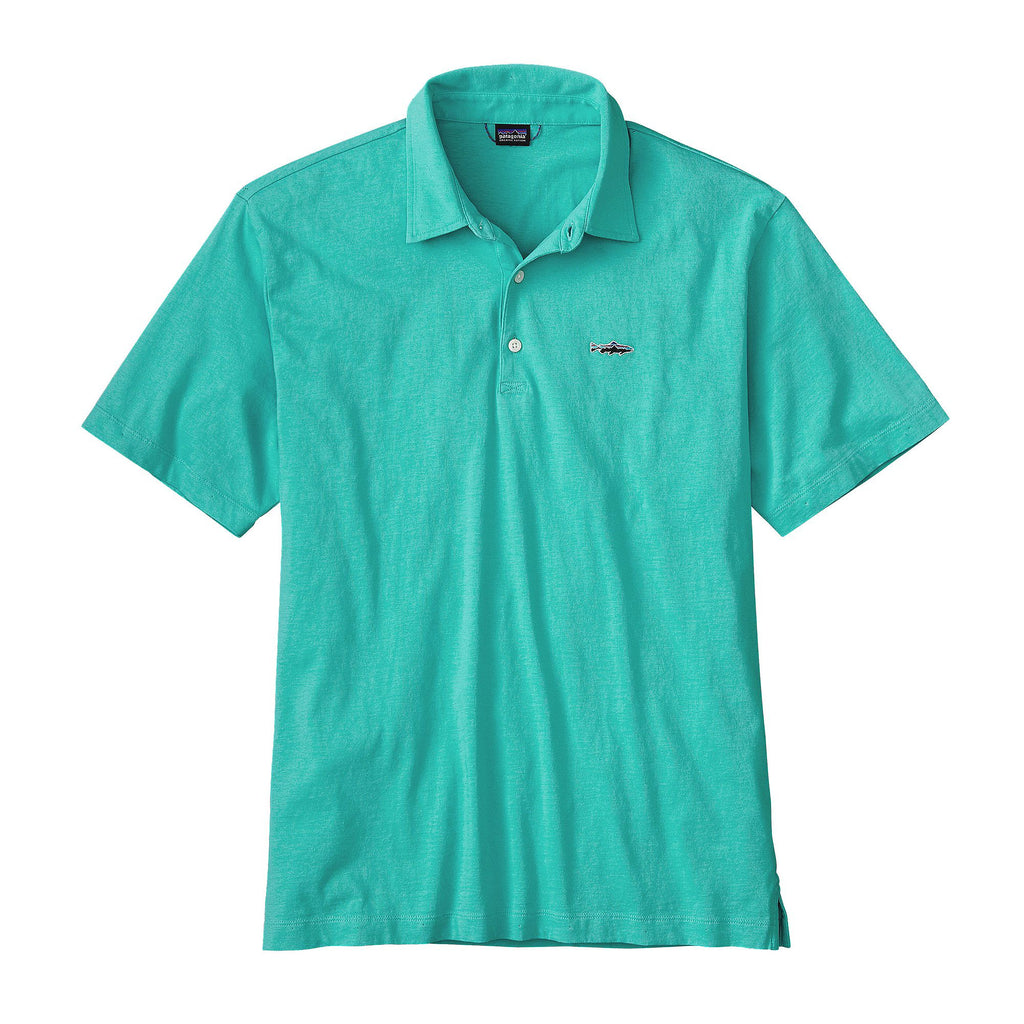 Patagonia Polo Trout Fitz Roy-Galah Green