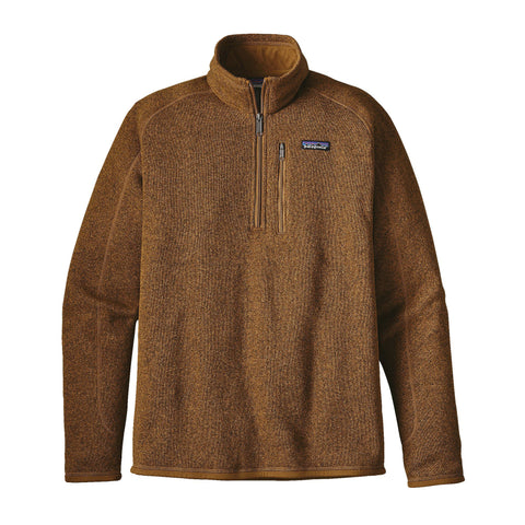 Patagonia Men's Better Sweater 1/4 Zip-Tapenade - Bennett's Clothing