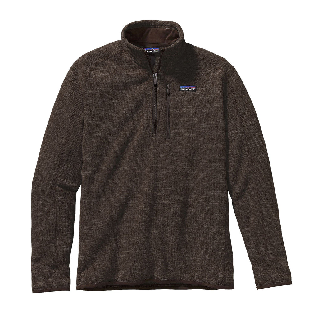 Patagonia Better Sweater 1/4 Zip pullovers are very warm and fashionable. Shop Bennetts Clothing for a large selection of mens outdoor wear from the brands you love.