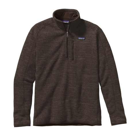 Patagonia Men's Better Sweater 1/4 Zip-Dark Walnut - Bennett's Clothing