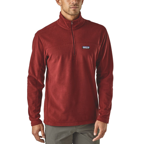 Mens Patagonia Micro D 1/4 Zip Pullover -Shop Bennett's Clothing for the best in name brand fleece and menswear
