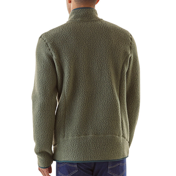 Patagonia Men's Retro Pile Pullover-Industrial Green