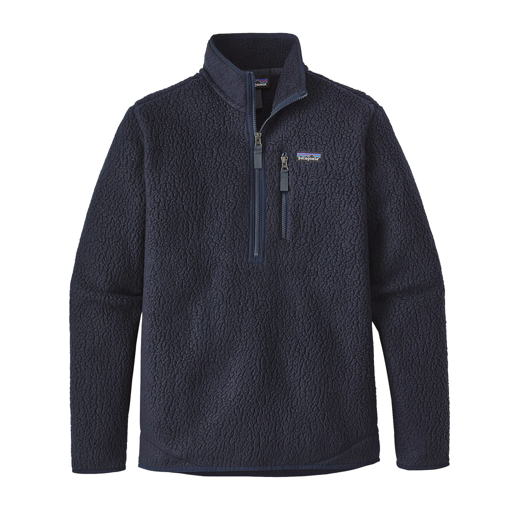 Patagonia Men's Retro Pile Pullover-Navy Blue