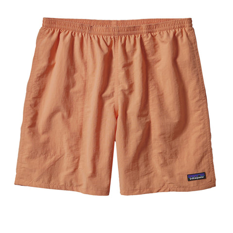 "Patagonia Men's Baggies 7"" Short-Lite Orange - Bennett's Clothing"