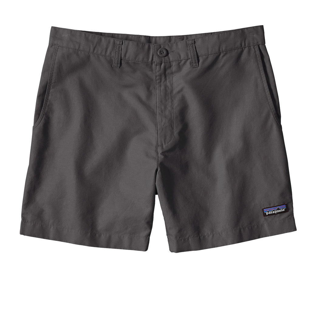 "Patagonia Mens Lightweight All Wear Hemp 6"" Short-Forge Grey"