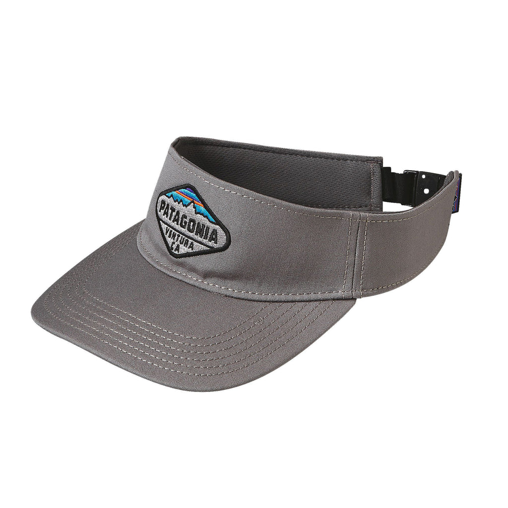 Patagonia Fitz Roy Crest Visor-Feather Grey - Bennett's Clothing