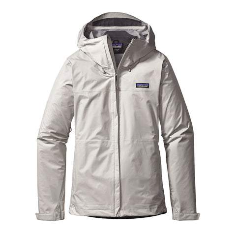 Patagonia W's Torrentshell Rain Jacket-Birch White - Bennett's Clothing