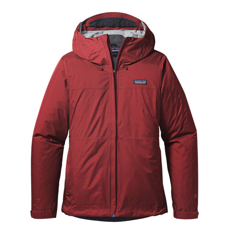 Patagonia W's Torrentshell Rain Jacket-Drumfire Red - Bennett's Clothing
