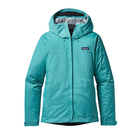 Patagonia W's Torrentshell Rain Jacket-Howling Turquoise - Bennett's Clothing