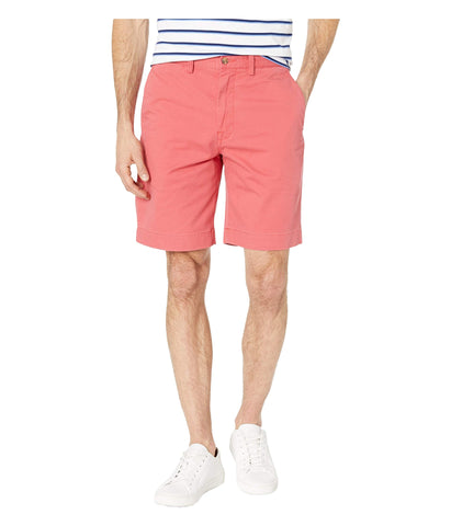 "Polo Stretch Classic Fit 9"" Flat-Front Short has the fit you know and love but with stretch. Shop Bennetts Clothing for the most popular brands in menswear."