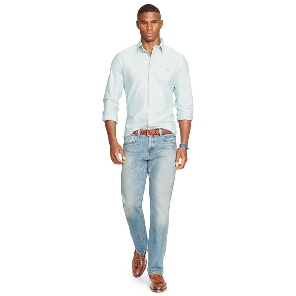Polo Ralph Lauren Mens Hampton Straight Fit Jean-Lightweight Dayton Wash - Bennett's Clothing - 4