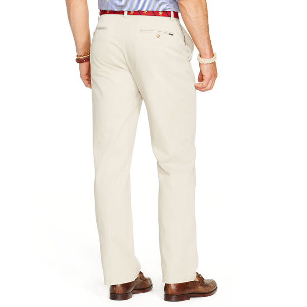 Polo Ralph Lauren Relaxed Fit Pants-Stone - Bennett's Clothing - 2