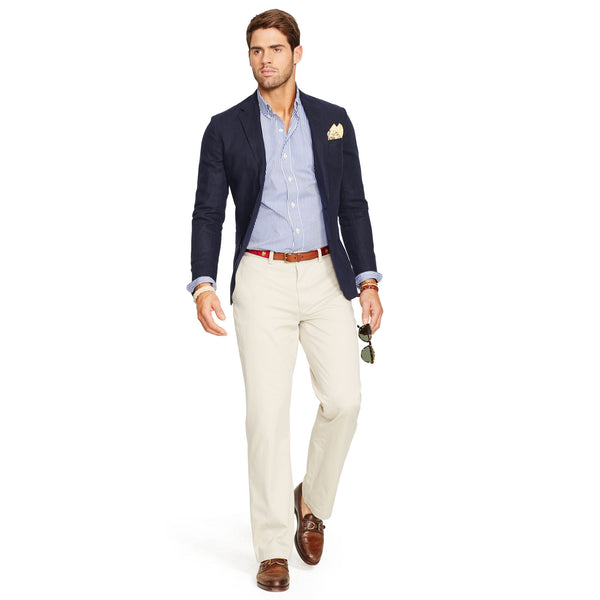 Polo Ralph Lauren Relaxed Fit Pants-Stone - Bennett's Clothing - 4