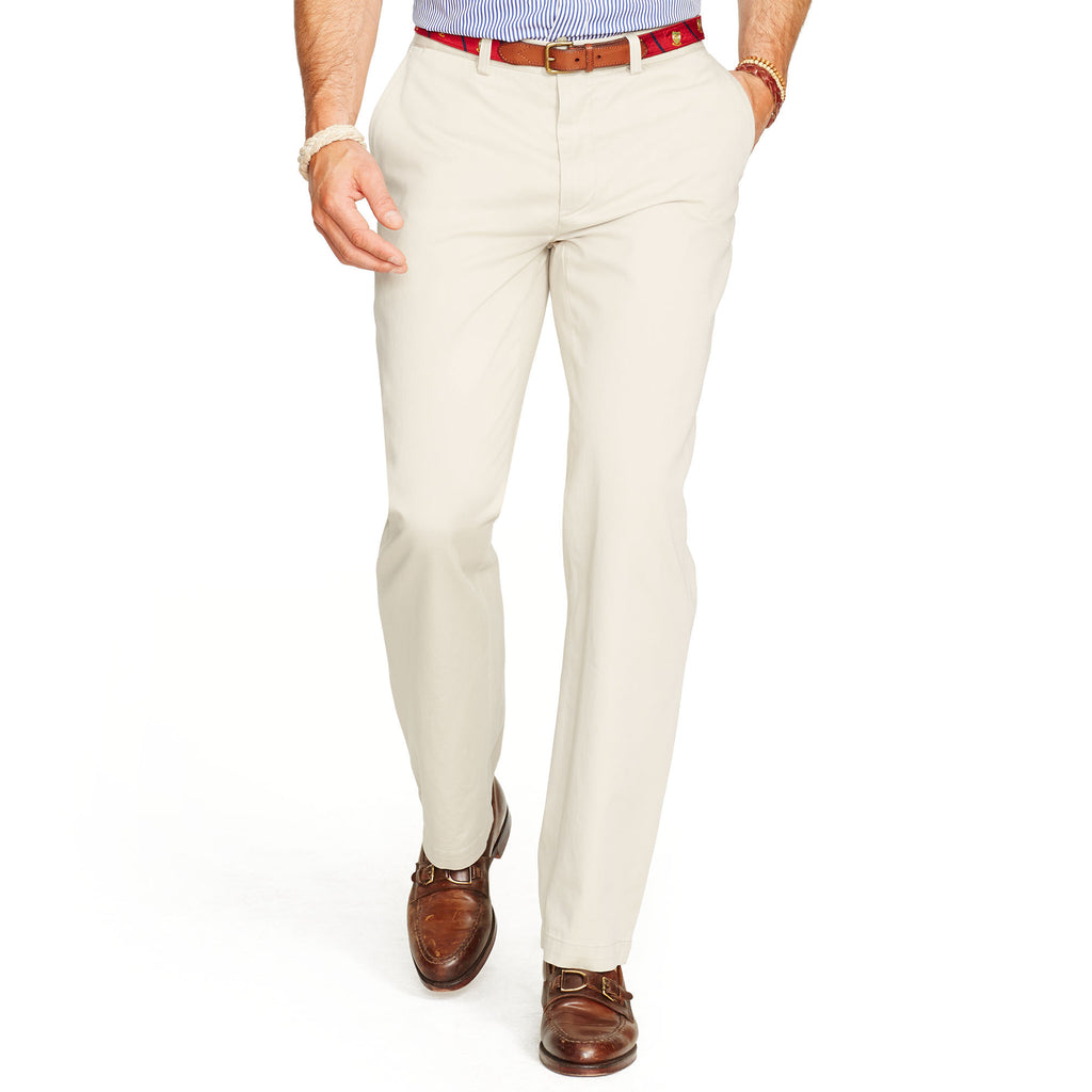 bc4481637 Polo Ralph Lauren Relaxed Fit Pants-Stone - Bennett s Clothing - 1