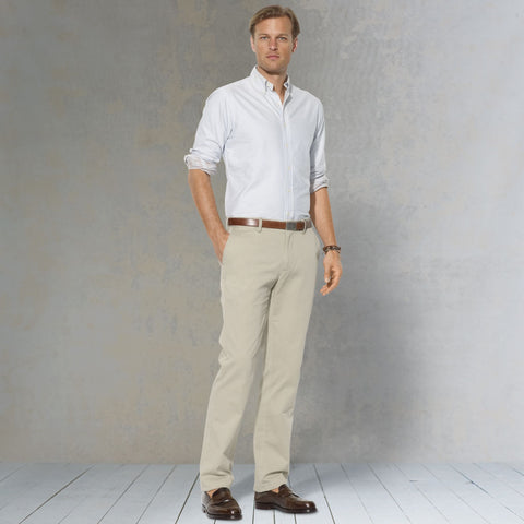 Polo Ralph Lauren Classic Fit Pant-Khaki - Bennett's Clothing - 1
