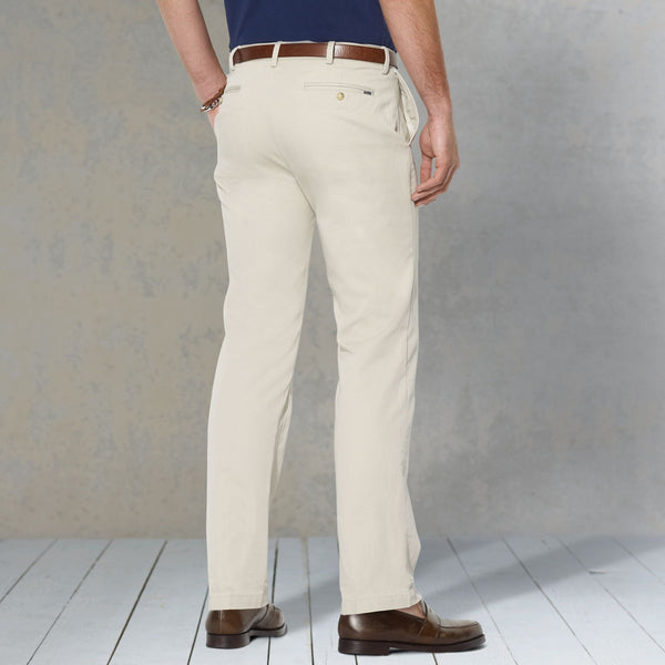 Polo Ralph Lauren Classic Fit Pant-Stone - Bennett's Clothing - 3