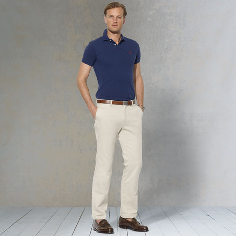 Polo Ralph Lauren Classic Fit Pant-Stone - Bennett's Clothing - 1
