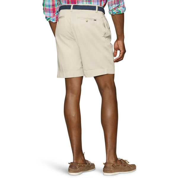 "Polo Ralph Lauren 9"" Pleated Short-Stone - Bennett's Clothing - 2"