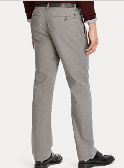 Polo Ralph Lauren Classic Fit Chino Pant-Regent Grey