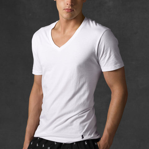 Polo Ralph Lauren Men's V-Neck Undershirt -Shop Bennetts Clothing for the best in name brand menswear