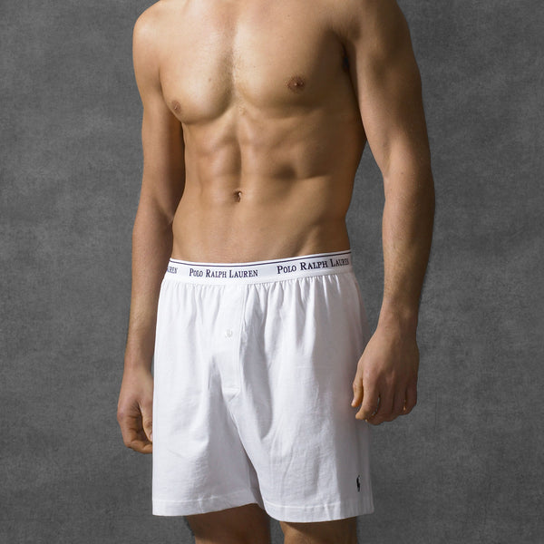 Ralph Lauren Polo Men S Cotton Boxers 3 Pack White