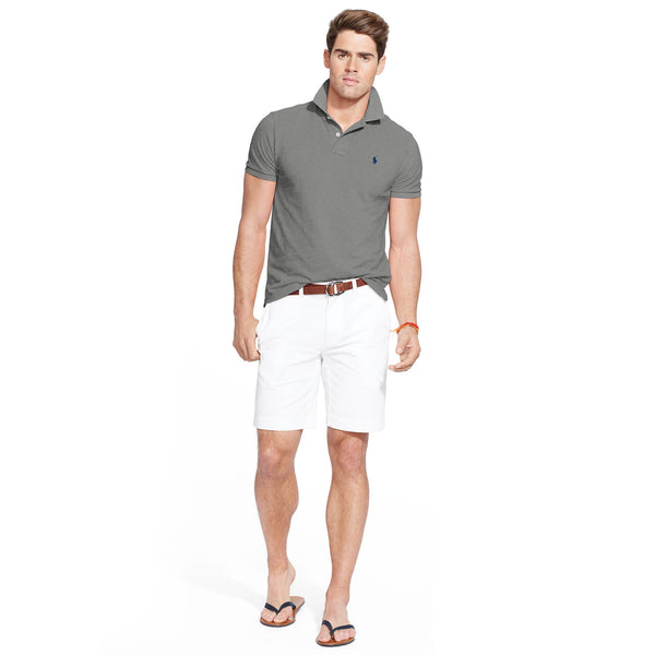 Polo Men's Classic-Fit Mesh-Heather Grey - Bennett's Clothing - 4