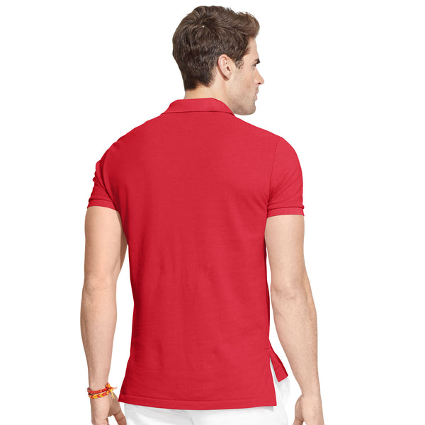 Polo Men's Classic-Fit Mesh-Red - Bennett's Clothing - 2