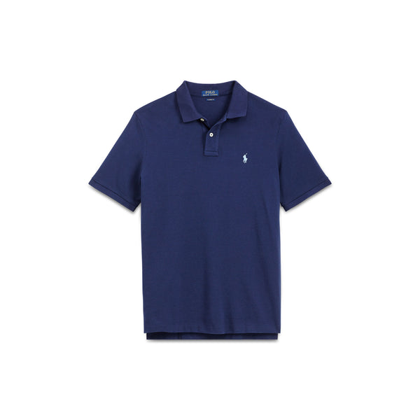 Polo Men's Classic-Fit Mesh-Navy