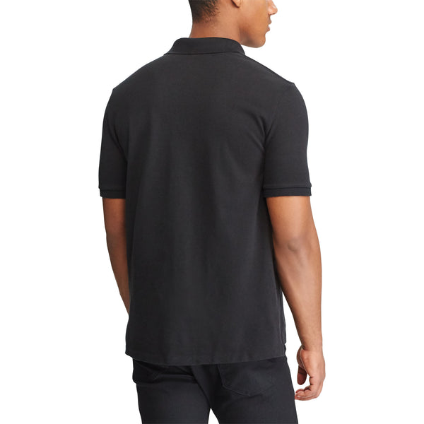 Polo Men's Classic-Fit Mesh-Polo Black