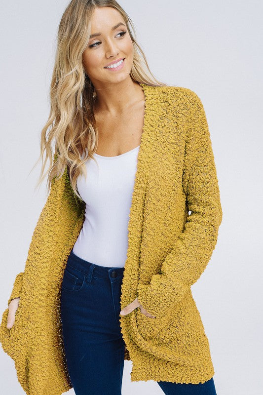 Racheal Popcorn Cardigans are so cozy and popular because they match everything -Shop Bennetts Clothing for your Popcorn sweaters and receive same day shipping