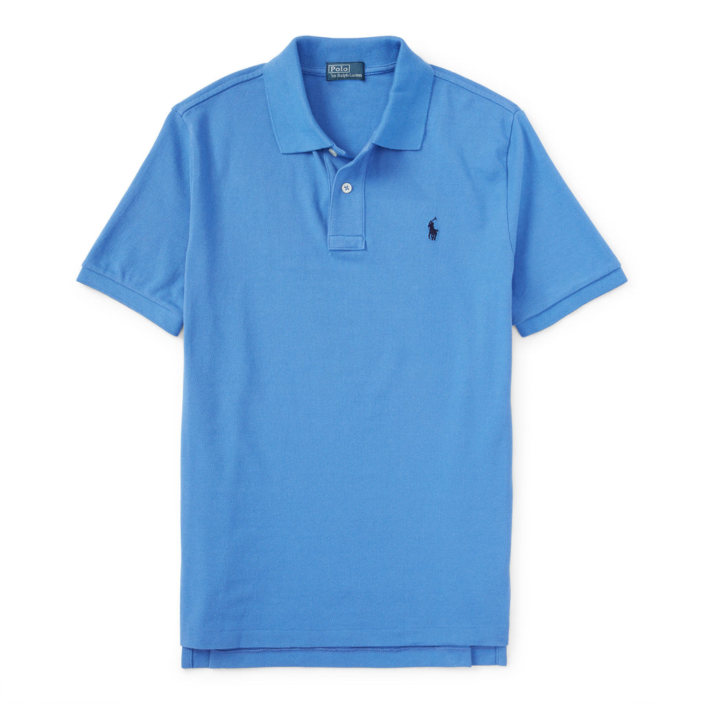 Ralph Lauren Boy's Mesh Polo-Scottsdale Blue - Bennett's Clothing