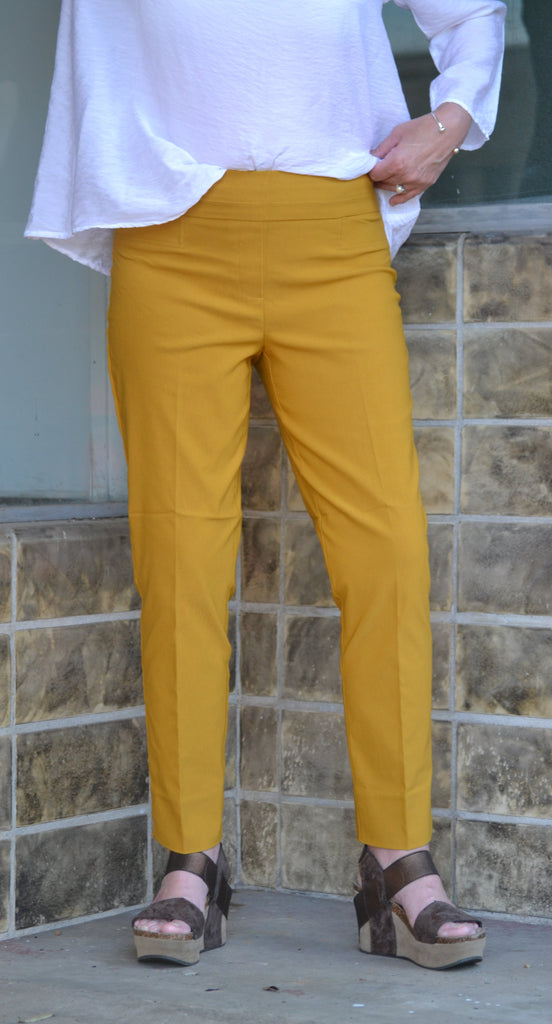 Renuar Cigarette Leg Pants are a customer favorite and available in long lengths -Shop Bennetts Clothing for the best customer service with the fastest shipping