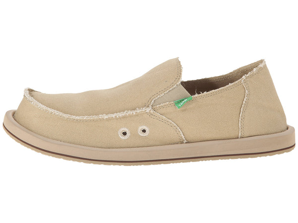 Sanuk Men's Vagabond Slip-on Loafer-Khaki - Bennett's Clothing - 2