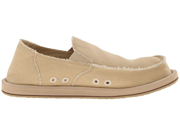 Sanuk Men's Vagabond Slip-on Loafer-Khaki - Bennett's Clothing - 4